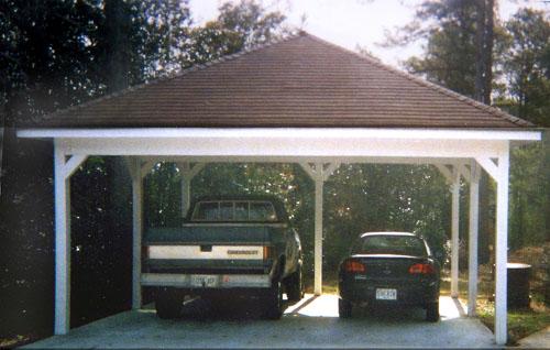 Custom Wood Carports : Custom garages  in