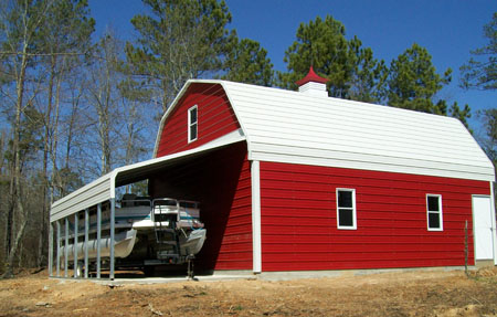 Metal Garages Sheds And Storage Buildings Custom Built