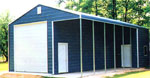 Metal garages, barns, workshops, storage buildings